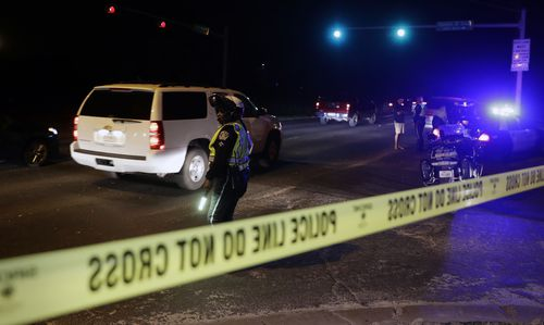 Police have continued to lock down locations in Austin where the bombs have gone off. (AAP)