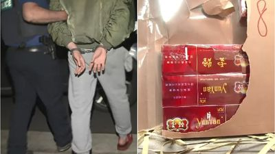Six Chinese nationals 'imported 2.5 million illegal cigarettes'