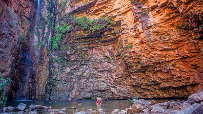 Emma Gorge waterfall, The Kimberley