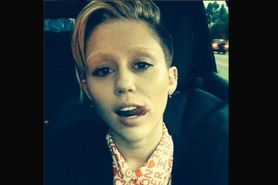 We're glad Miley got her brows back before the big day.