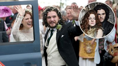 'Game of Thrones' on-screen lovers tie the knot - in real life