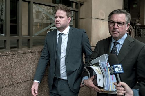 Stevens was charged with giving evidence to the Ringwood Magistrates' Court four years ago. (AAP)
