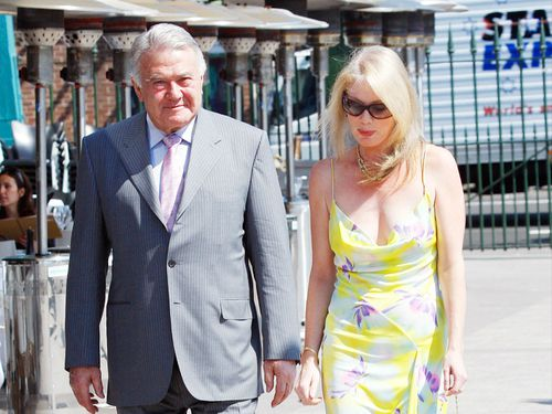 Hitchcock is the former mistress of late billionaire Richard Pratt. (Getty)
