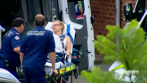Teacher Carolyn Cox was stabbed by the Year 11 student before he proceeded to stab two fellow students at Bonnyrigg High School.