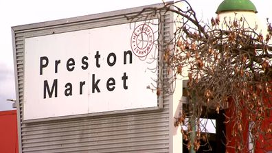 Lauren's day out at the Preston Market