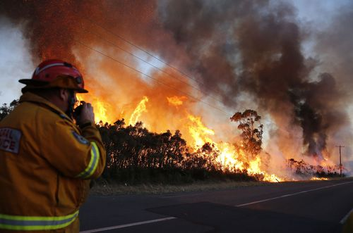 A very high fire danger remains in place for NSW.