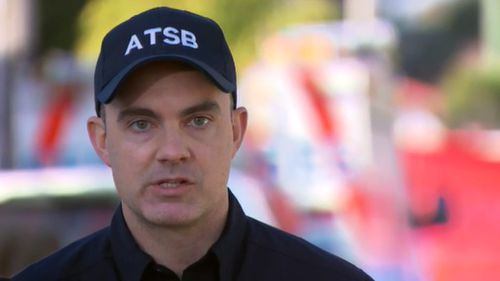 Nat Nagy from the ATSB said the lead-up of the deadly crash is now the focus of investigations. (9NEWS)