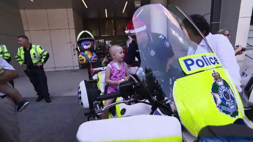 Queensland Police Children's Hospital toy run