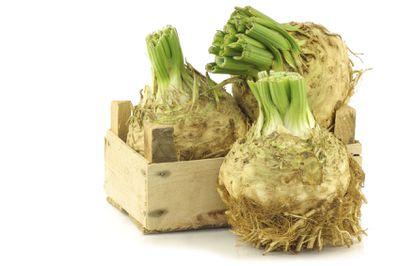 Celery, bok choi, lettuce