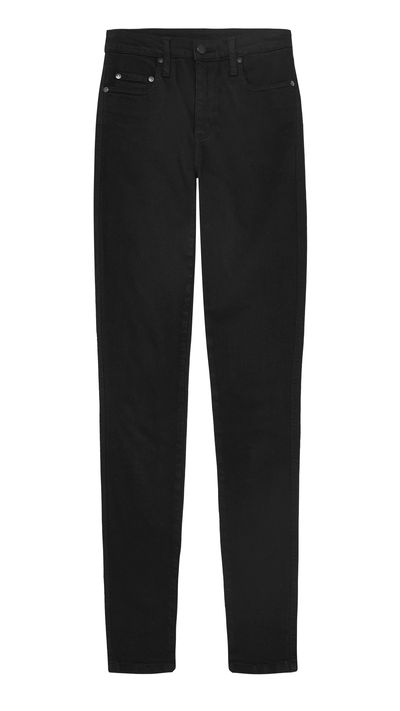 <p>Think of this super high-waisted take on the the beloved black skinny jean as that friend who's always landing you backstage at gigs (it's not a sell-out style for nothing).</p>