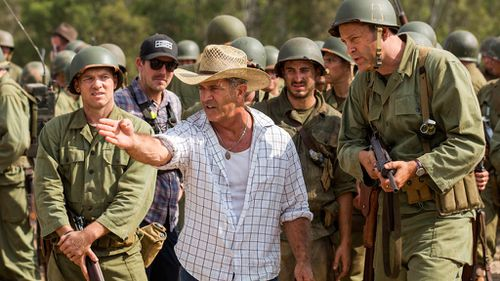 The Mel Gibson directed Hacksaw Ridge has picked up a number of nominations. (AAP)