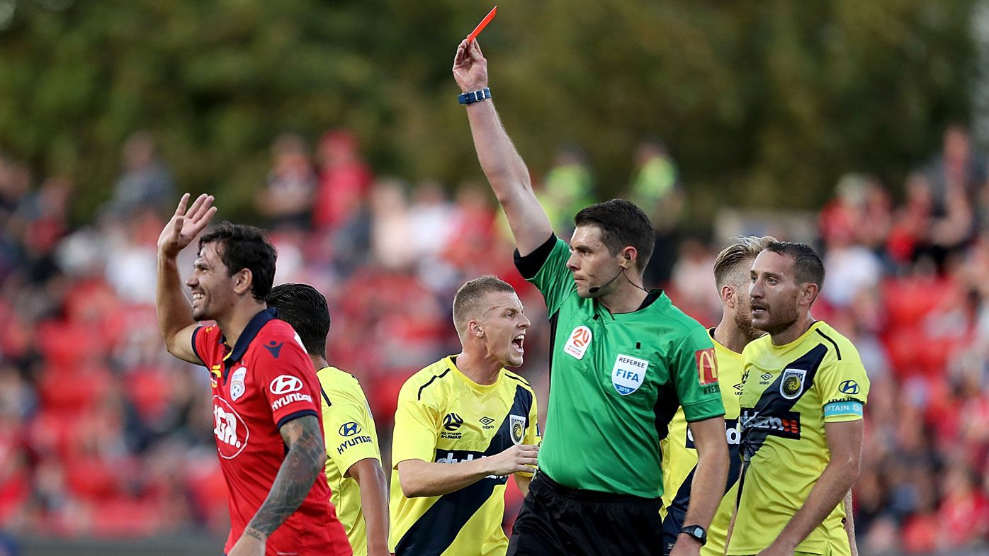 Adelaide United defender Ersan Gulum facing lengthy suspension for sarcastic clapping