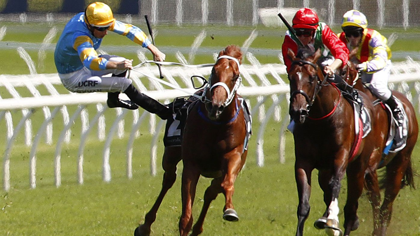 Bowman hospitalised after Randwick fall