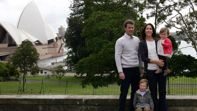 Princess Mary, Prince Frederik, Prince Christian and Princess Isabella