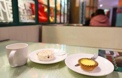 Hong Kong cha chaan teng breakfast