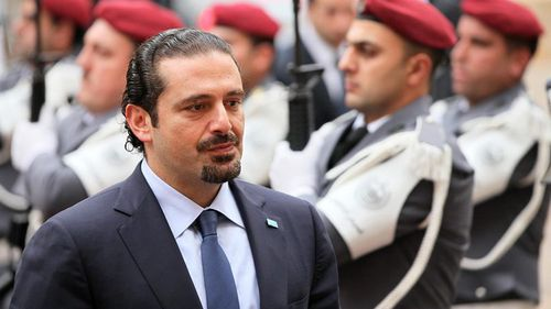 Lebanon's Prime Minister Saad Hariri has fuelled speculation about his freedom after a bizarre television interview about his unexpected resignation. (AP)