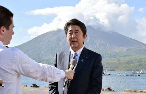Shinzo Abe has met President Donald Trump regularly as he looks to promote Japanese interests in the South East Asia region.