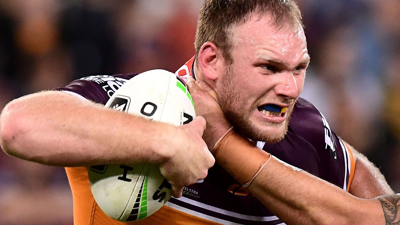 Brisbane Broncos confident Matt Lodge will face Eels