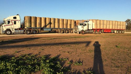 Drought Australia NSW Coonabarabran assistance handouts Rural Aid