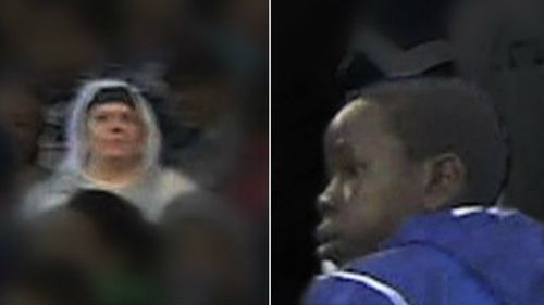 Police release images of NRL hooligans following Good Friday bottle throwing incident