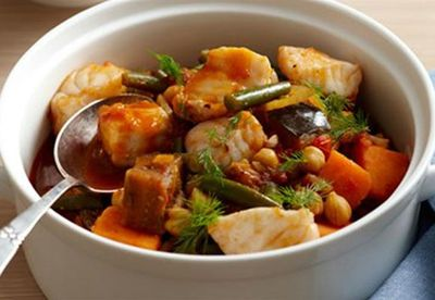 "Recipe:&nbsp;<a href=""/recipes/ifish/8348445/fish-and-eggplant-stew-for-9"" target=""_blank"">Fish and eggplant stew</a>"