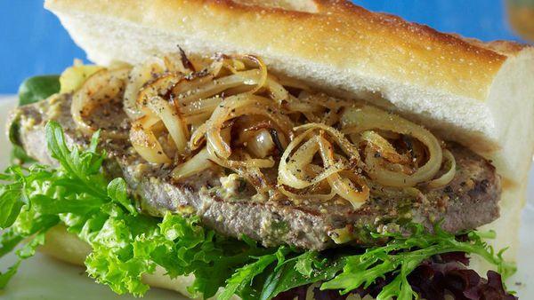 Minute steak sandwiches