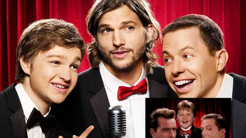 Revealed: Who is Ashton Kutcher playing on Two and a Half Men?