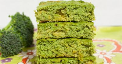 <strong>Afternoon Tea: Broccoli bars</strong>