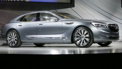 The sedan was designed in Port Melbourne and the concept borne on our shores. (AAP)