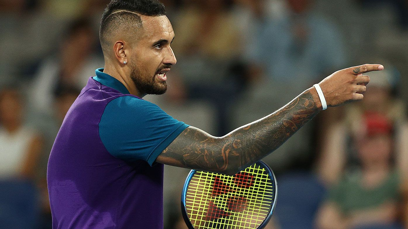 Nick Kyrgios. (Getty)
