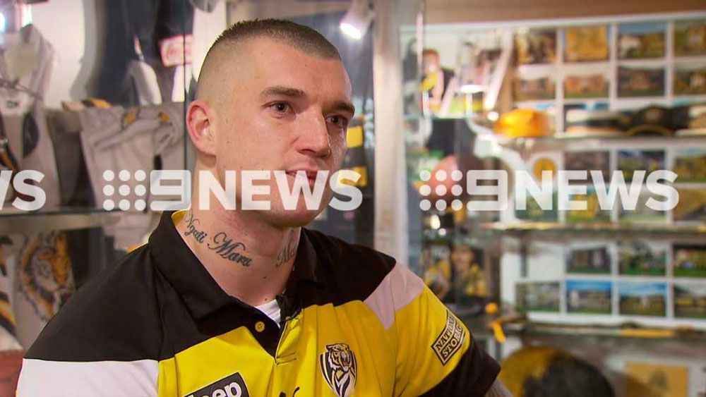 AFL: Re-signed Richmond Tigers star Dustin Martin now ready to pursue a premiership
