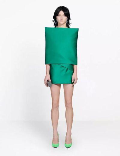 Balenciaga's 'cushion' dress
