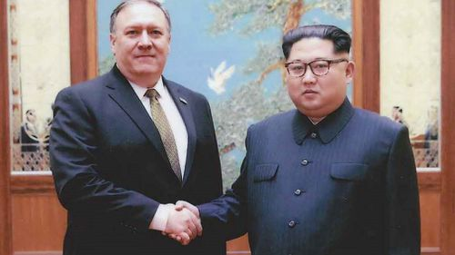 US Secretary of State Mike Pompeo met the North Korean leader last month.