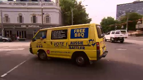 The Aussie Battler's Party has 19 candidates running in the weekend's election.
