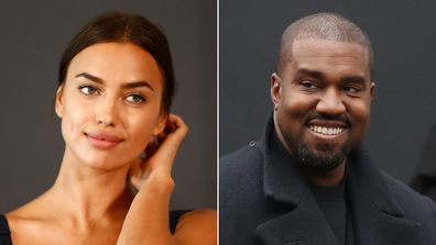 Kanye West is believed to be dating Irina Shayk.