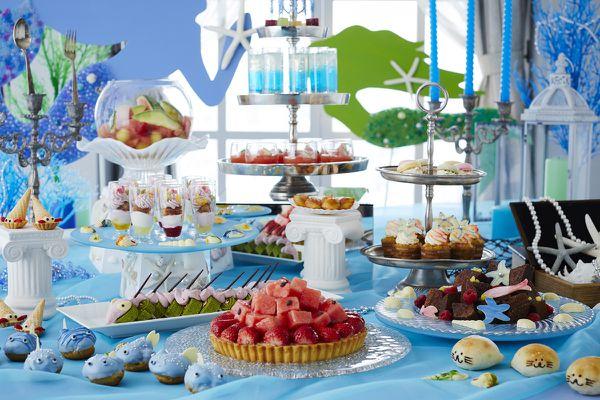 Princess Mermaid Sweets Buffet