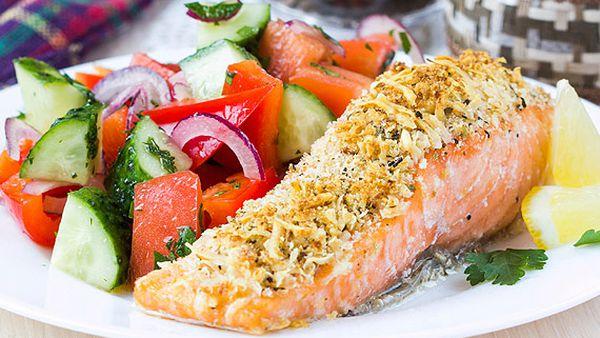 Tyrrells crisp crusted salmon fillets