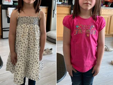 Many are asking, how are spaghetti straps inappropriate on a five-year-old.