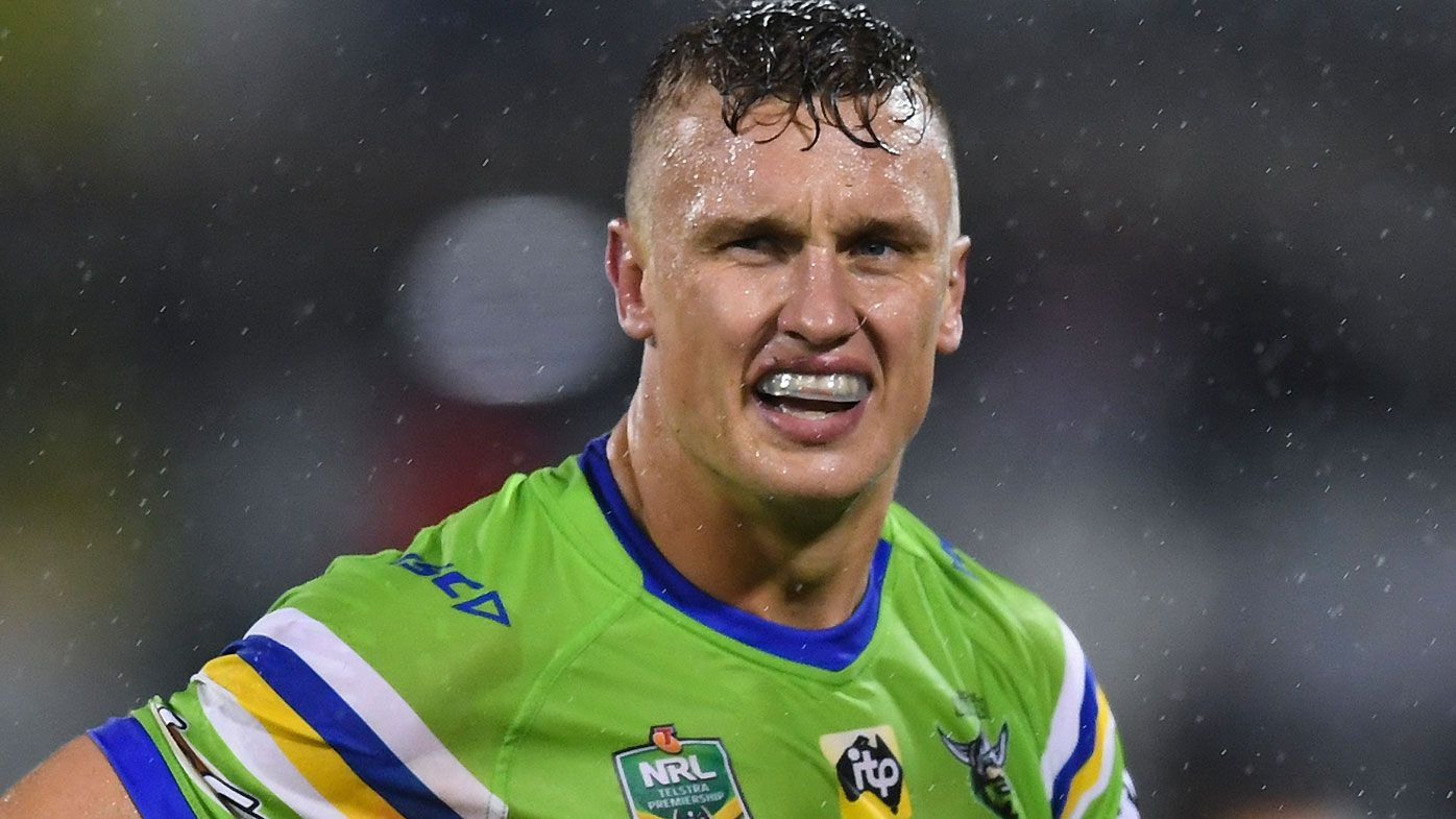 NRL rejects Canberra Raiders' appeal for Jack Wighton suspension