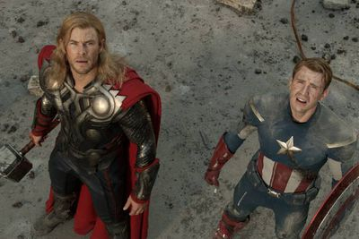 """The idea of a Marvel superhero crossover has been teased since 2008's <i>Iron Man</i>, and now, after five separate films, it's finally here, the first <i>Avengers</i> flick. Thor, the Hulk, Iron Man, Captain America... all in one movie! It's written and directed by <i>Buffy</i>'s Joss Whedon, and stars Robert Downey, Jr., Chris Evans, Chris Hemsworth, Scarlett Johansson, Samuel L. Jackson and Mark Ruffalo. <br/><br/><b><a target=""""_blank"""" href=""""http://yourmovies.com.au/movie/43194/the-avengers"""">*Vote for this movie on MovieBuzz</a></b>"""