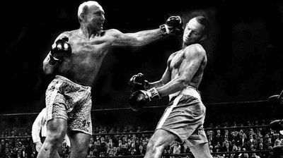 <p>A classic moment from the iconic boxing bout between Muhammad Ali and Joe Frazier reimaged. </p> <p>It appears Putin has got the upper-hand over Abbott. </p>