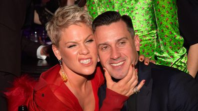 Pink, Carey Hart, Recording Academy Pre-GRAMMY Gala, 2018, New York City