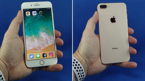 Apple's iPhone 8 Plus.