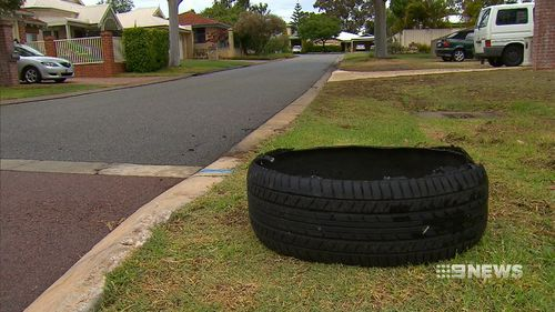 Police say the gang is responsible for a string of robberies. (9NEWS)