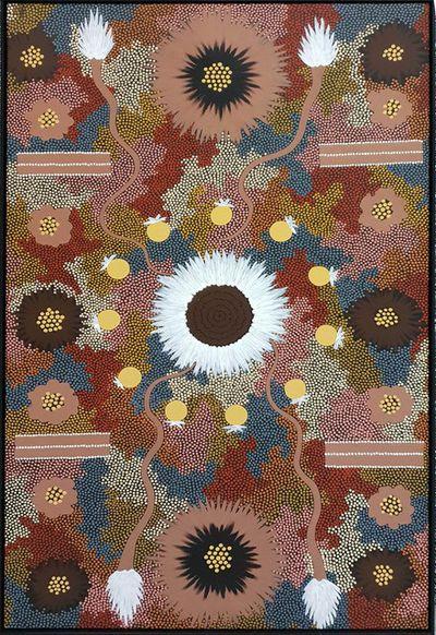 Clifford Possum 'Tjapaltjarri' artwork