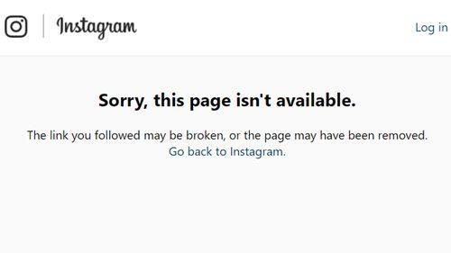 Israel Folau's Instagram went offline briefly last night.