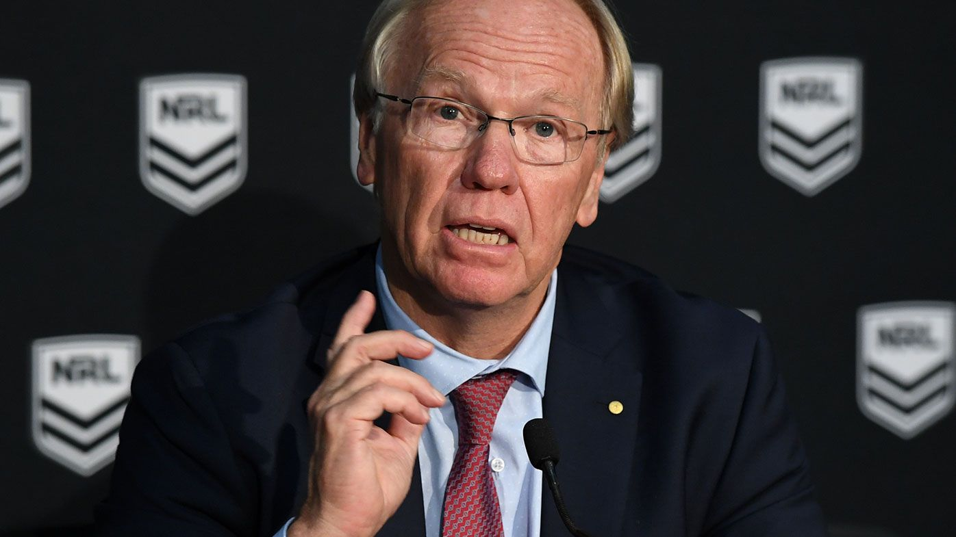 NRL: ARLC boss Peter Beattie admits job on the line after no-fault policy controversy