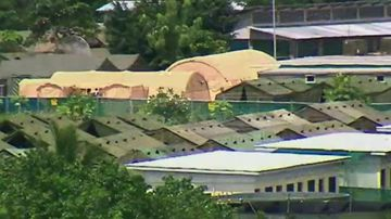 Two refugees have set themselves on fire on Nauru in the past week. (9NEWS)