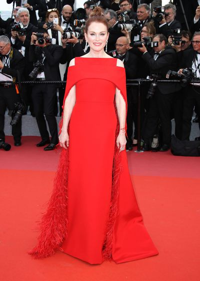 Julianne Moore in Givenchy Haute Couture at the 2018 Cannes Film Festival