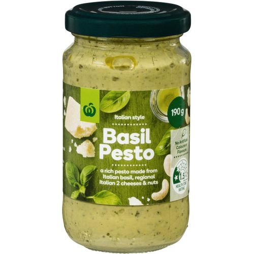 Woolworths has announced nationwide pesto recall.